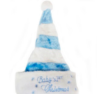 xmas-babys-hat-blue-striped